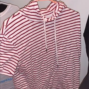 Other - Stripped hoodie t shirt